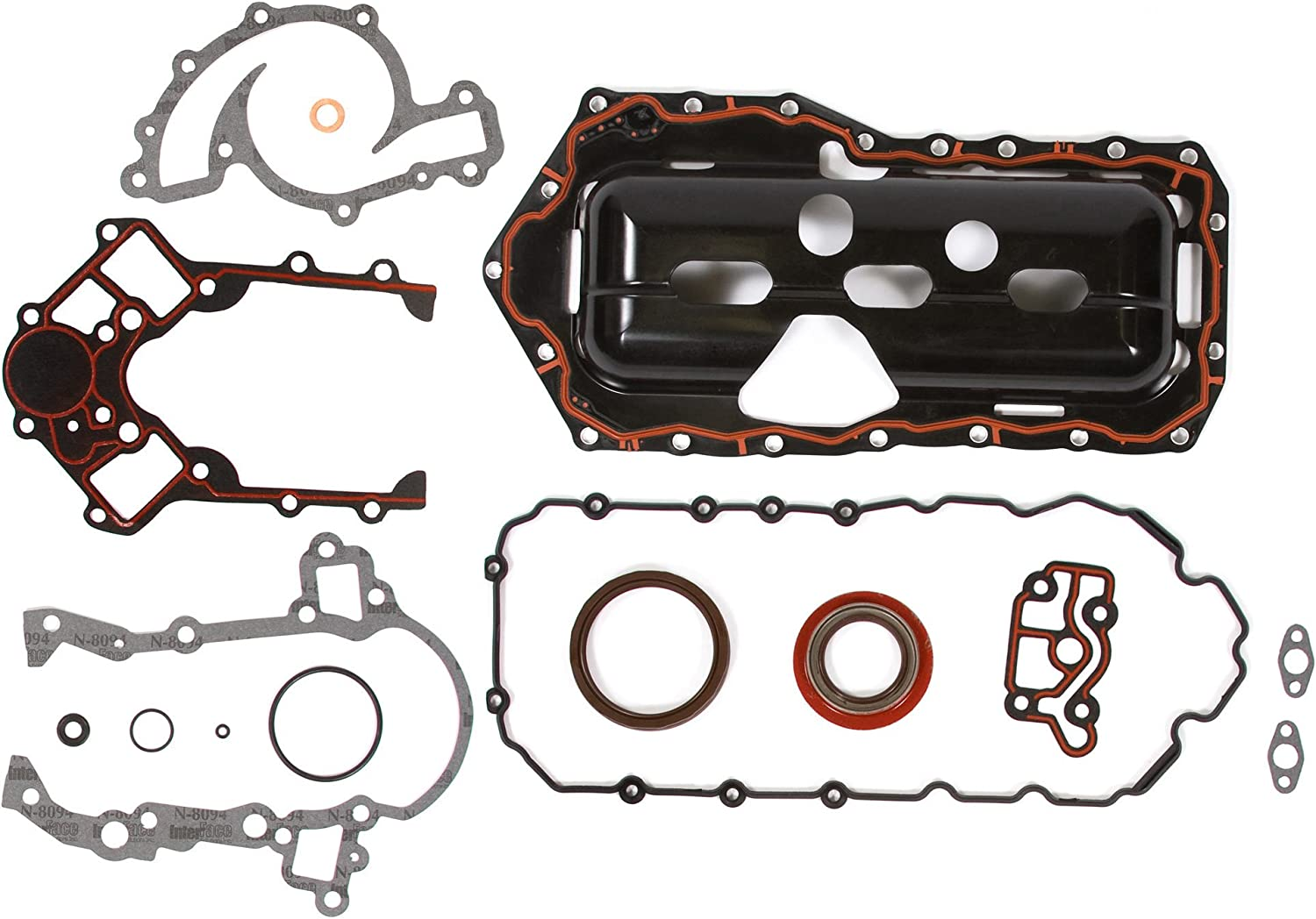 Full Gasket Set for 04-05 Pontiac Grand Prix Supercharged 3.8L 3800cc OHV 12V