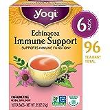 Yogi Tea, Echinacea Immune Support, 16 Count (Pack of 6)