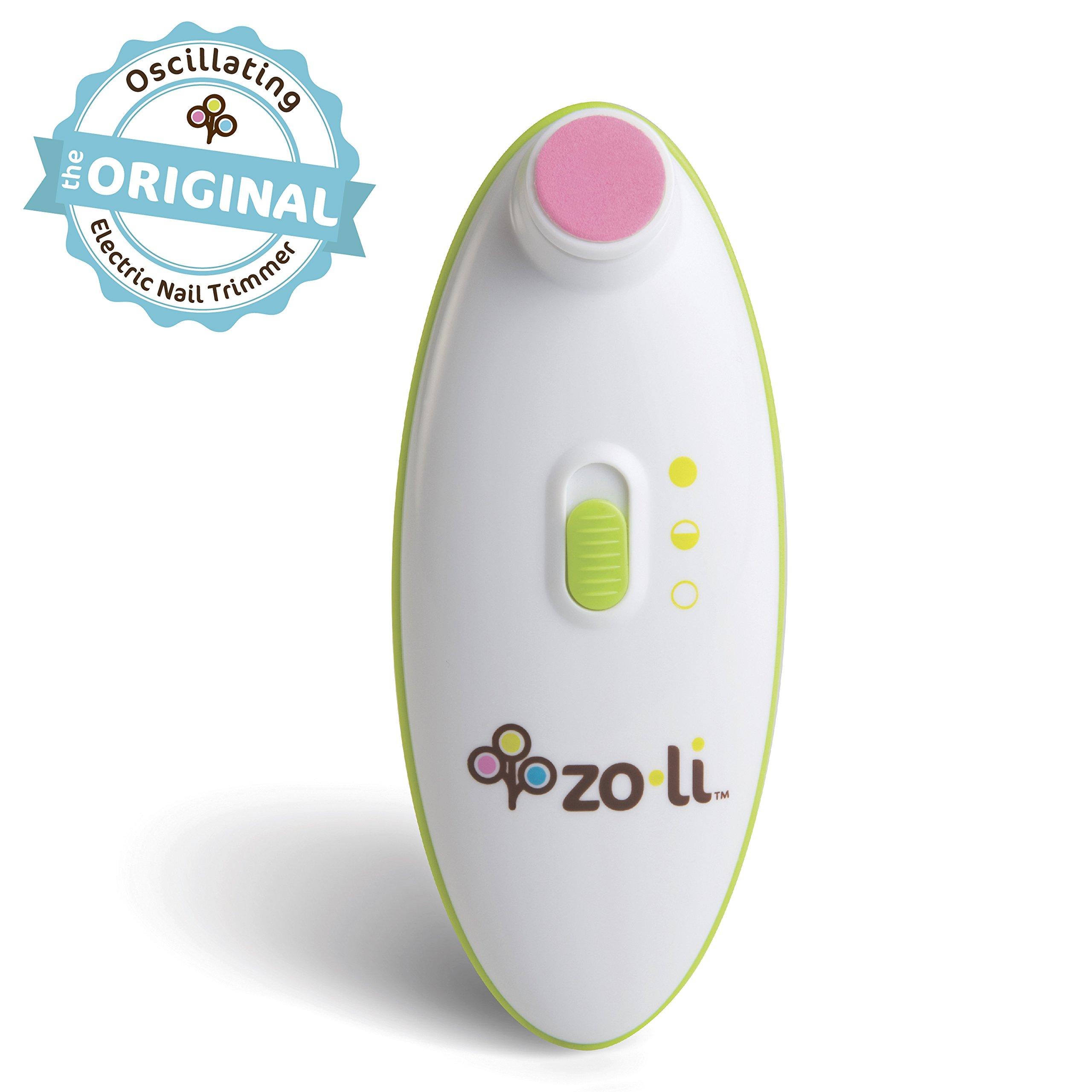 ZoLi BUZZ B | Electric Baby Nail Trimmer, Baby Nail File by Zo·Li