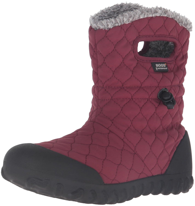 Bogs Women's B-Moc Quilt Puff Snow Boot B01BVGEMR8 9 B(M) US|Burgundy