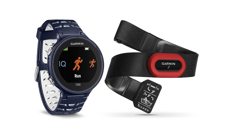 Garmin Forerunner 630 GPS Smartwatch W / hrm-run – ミッドナイトブルー – 充電クリップバンドルIncludes Forerunner 630 GPS、hrm-runおよび充電クリップ B016VC1PZ4  ダークブルー(Midnight Blue)