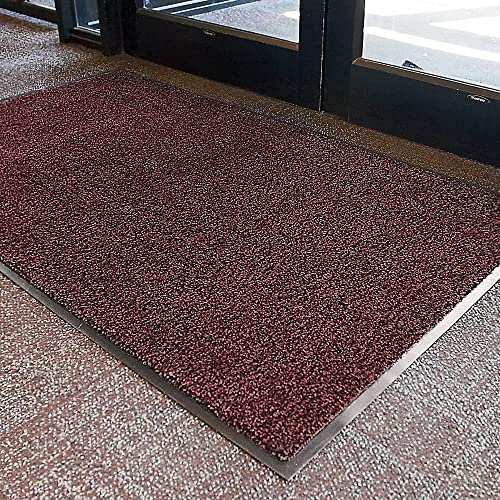 Crown Dust-Star Carpet Mat – Pre-Cut Size – 3X10 – Red – Red – 3×10