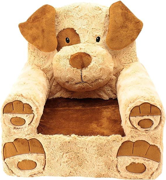 Animal Adventure Sweet SeatsBlue Dragon Childrens ChairLarge SizeMachine Washable Cover
