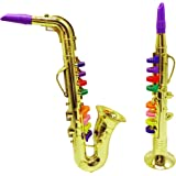2 pc set Music Instruments, Saxophone and Clarinet. Combo with over 10 Color Coded Teaching Songs included