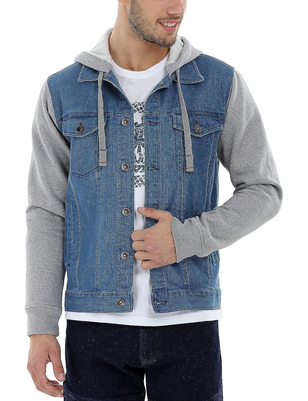 Jean hoodie jacket