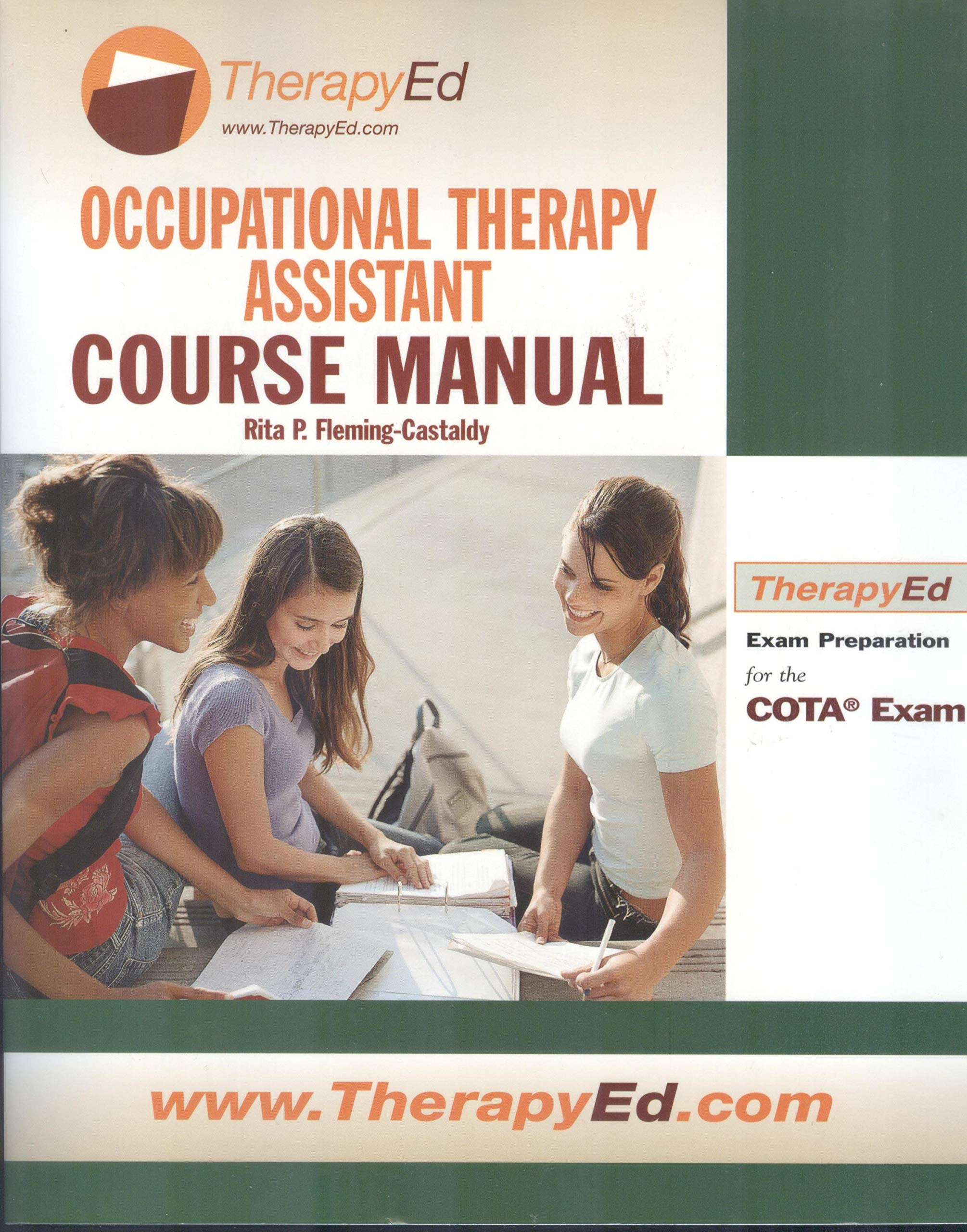 Occupational Therapy Assistant Course Manual Rita P Fleming