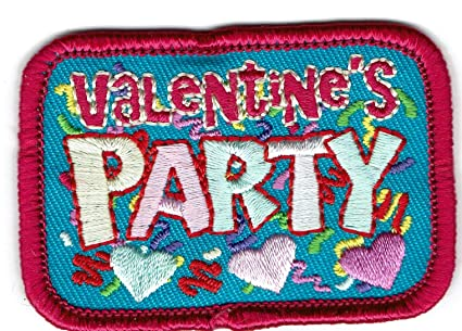 Amazon com: Girl Boy Cub Valentine's Day Party Fun Patches Crests