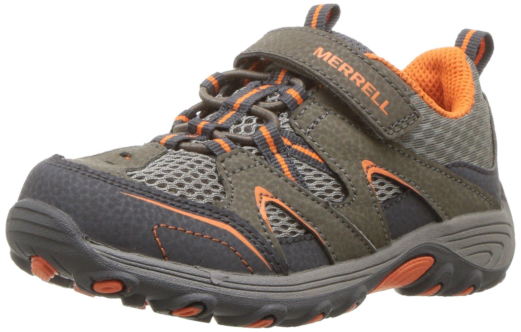 Merrell Boys' Trail Chaser JR Hiking Shoe, Gunsmoke, 6.5 Medium US Toddler