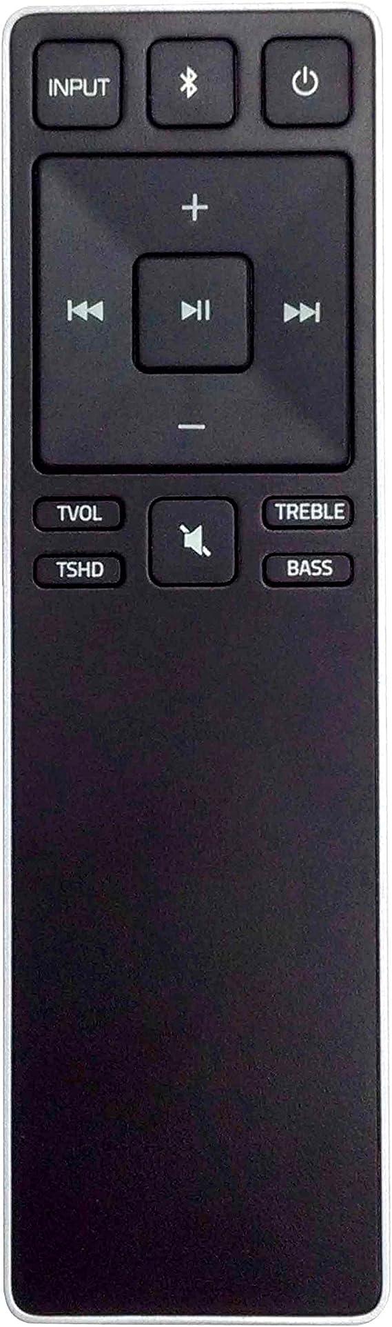 New Remote Control XRS321-C fit for VIZIO Sound Bar SB3820-C6 SB3821-C6 SB2920-C6 SS2521-C6 SS2520-C6 SB3821-D6 SB3820x-C6 (Black)