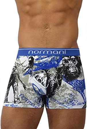 2 x de ropa interior para hombre Calzoncillos para hombre original normani Exclusive Wild Animals Talla