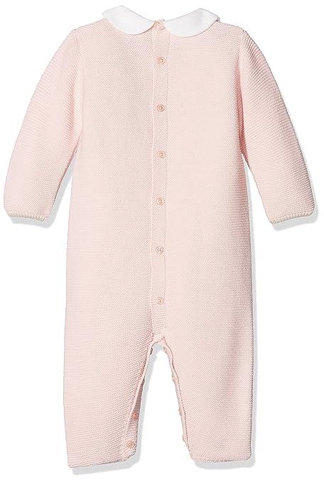PAZ Rodriguez 005-60205, Pelele para Bebés, (Rosa Tiza/Angora), Recién Nacido (Tamaño del Fabricante:6M): Amazon.es: Ropa y accesorios