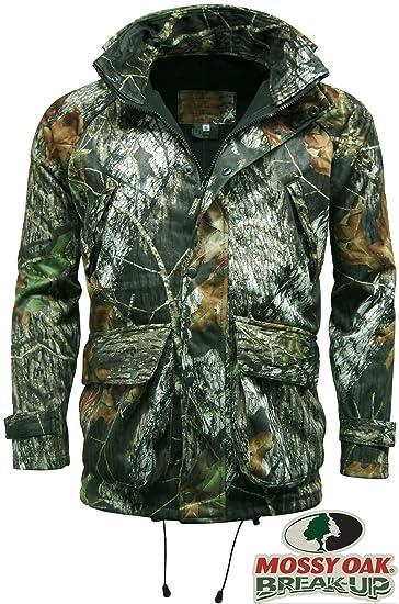 b6644248cf569 Mossy Oak Men's Waterproof Camouflage Jacket Outdoor Hunting Shooting Break  Up Camo Jacket ...