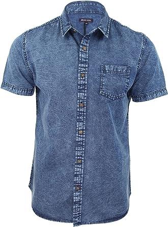 Brave Soul-Camisa para hombre, color azul desgastado Global ...