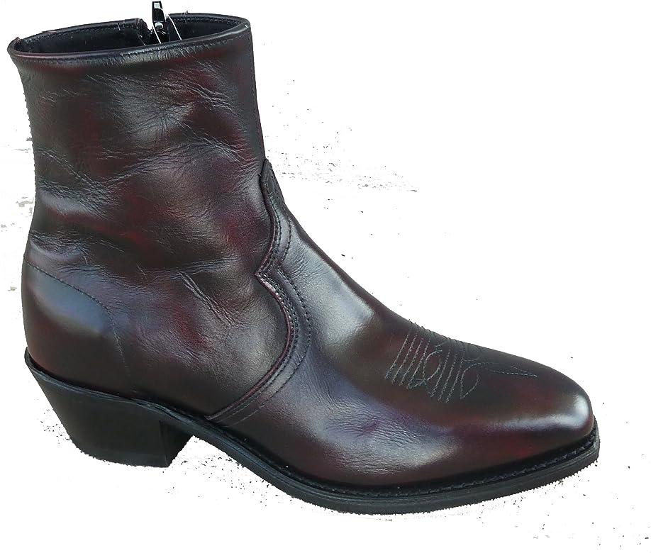 19481d7820b Men's Boot Zipper Short Dress