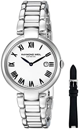 681200cec Image Unavailable. Image not available for. Color: Raymond Weil Women's  Shine Quartz Watch with Stainless-Steel Strap ...