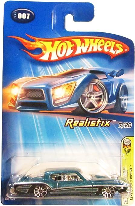 Mattel Hot Wheels 2005 1 64 Scale Blue 1971 Buick Riviera Die Cast Car 007 Toys Games