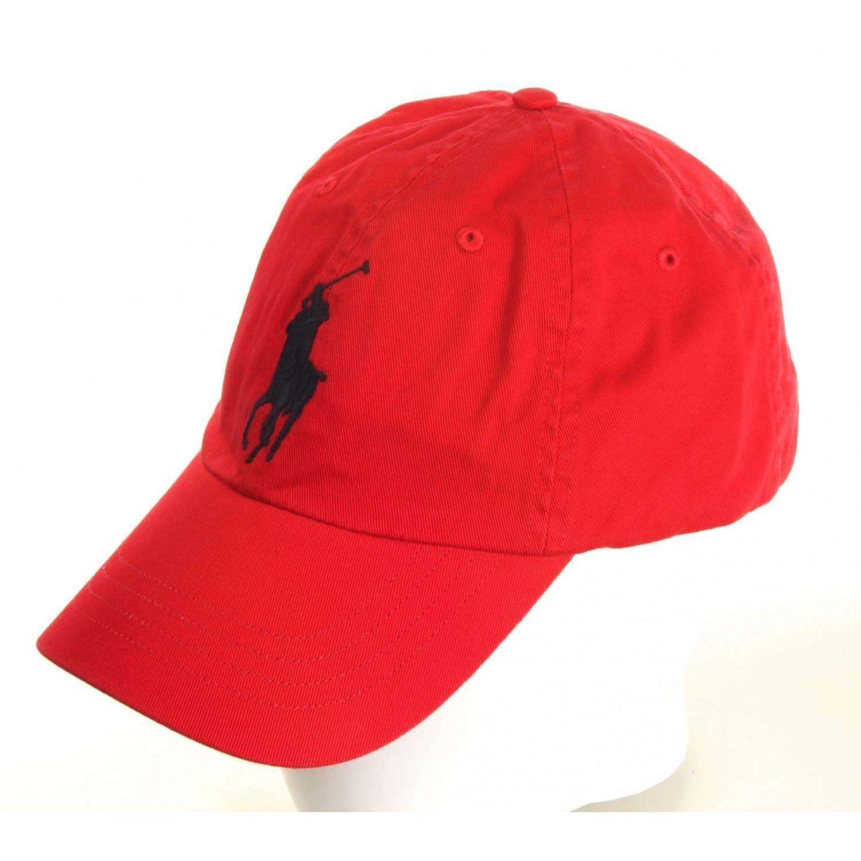 Ralph Lauren - Cappellino da baseball - Uomo rosso Taglia Unica  Amazon.it   Abbigliamento 5a9a57240e82