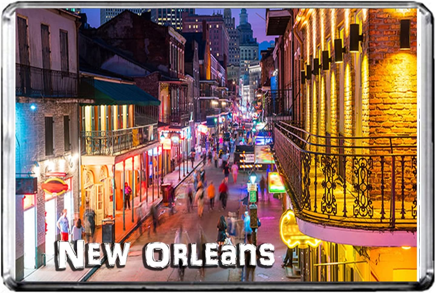 GIFTSCITY E226 NEW ORLEANS FRIDGE MAGNET USA TRAVEL PHOTO REFRIGERATOR MAGNET