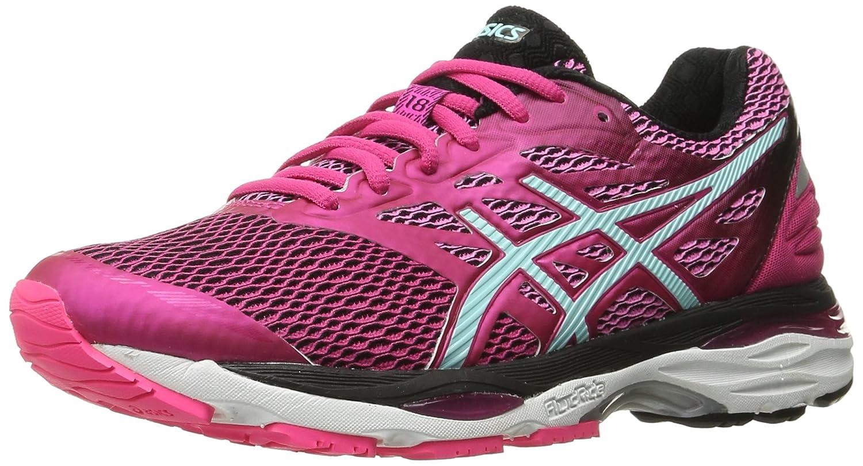 ASICS Women's Gel-Cumulus 18 Running Shoe B019JV0UD2 12.5 B(M) US|Sport Pink/Aruba Blue/Black