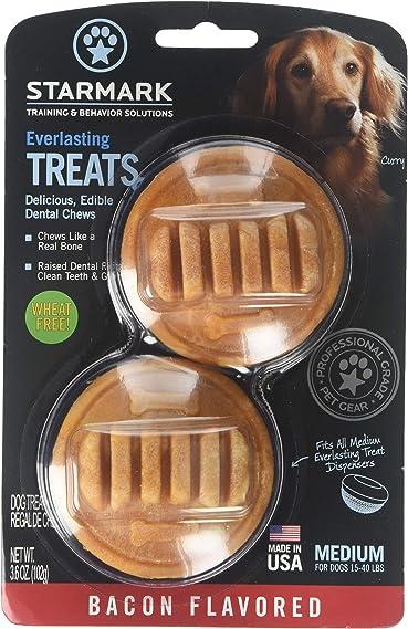 Starmark Everlasting Dental Chew, Bacon Flavored, Medium, 8 Count