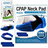 RespLabs CPAP Neck Pad for Headgear Straps — The Original CPAP Neck Pad with Built-in Strap Covers