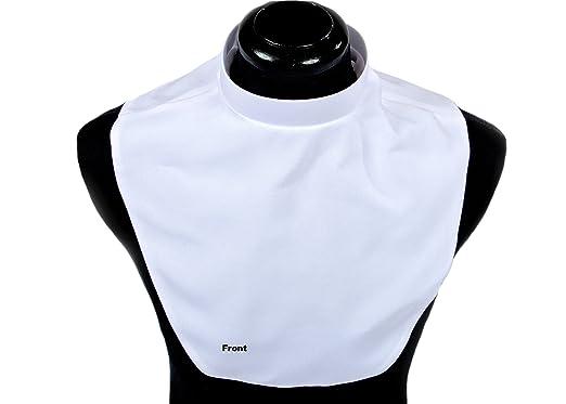 c8b58403281f52 Mercy Robes Men's Clerical White Dickey (Neck 18