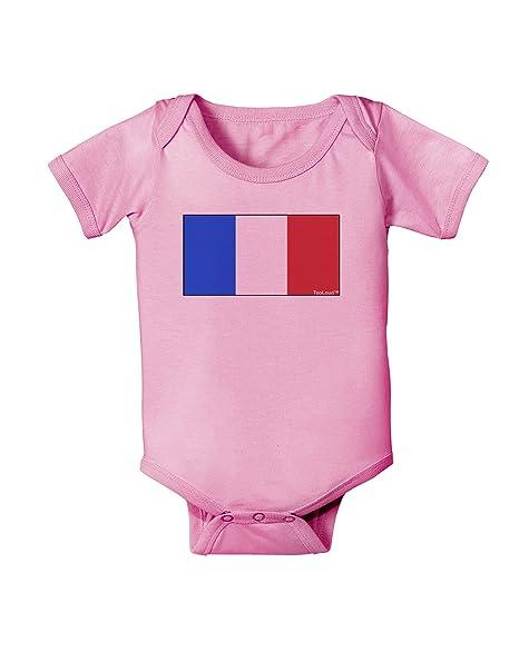 Amazon.com: tooloud Bandera Francesa – Francia Baby Romper ...