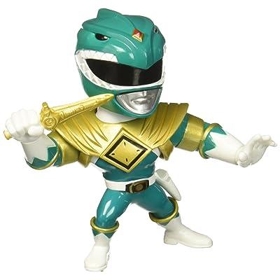 "Jada Toys Metals Power Rangers 4"" Classic Figure - Green Ranger (M405) Toy Figure: Toys & Games"