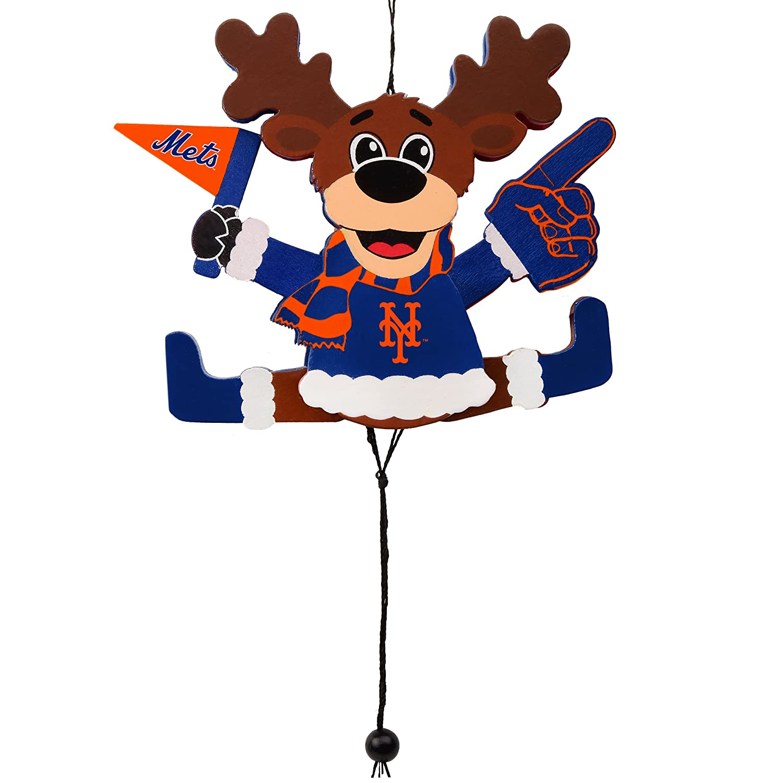 FOCO MLB Unisex Cheering Reindeer Ornament