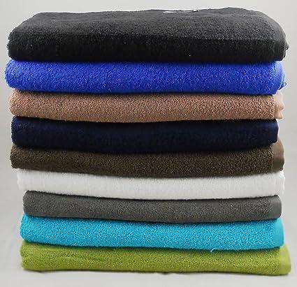 475gsm 100% algodón Jumbo de baño/toalla de playa 152,4 cm x
