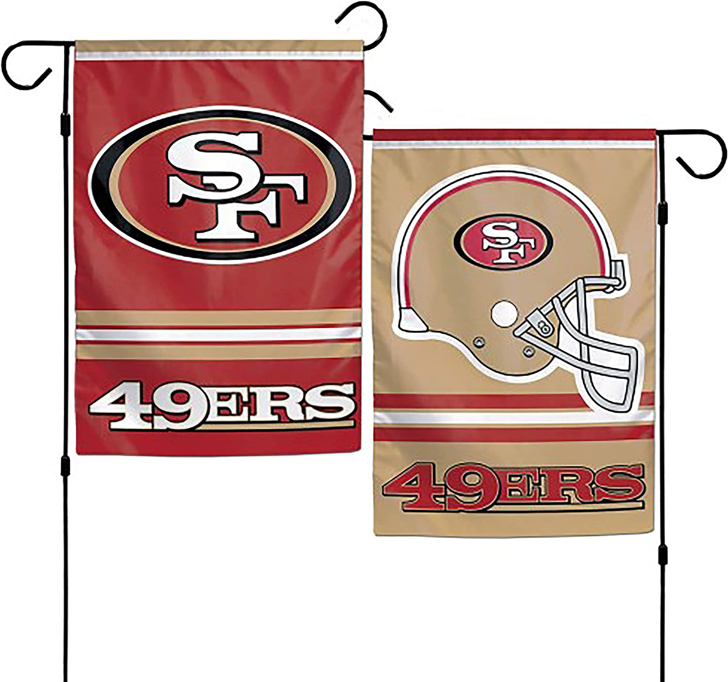 NFL San Francisco 49Ers 2-Sided Garden Flag, 12 x 18-inches