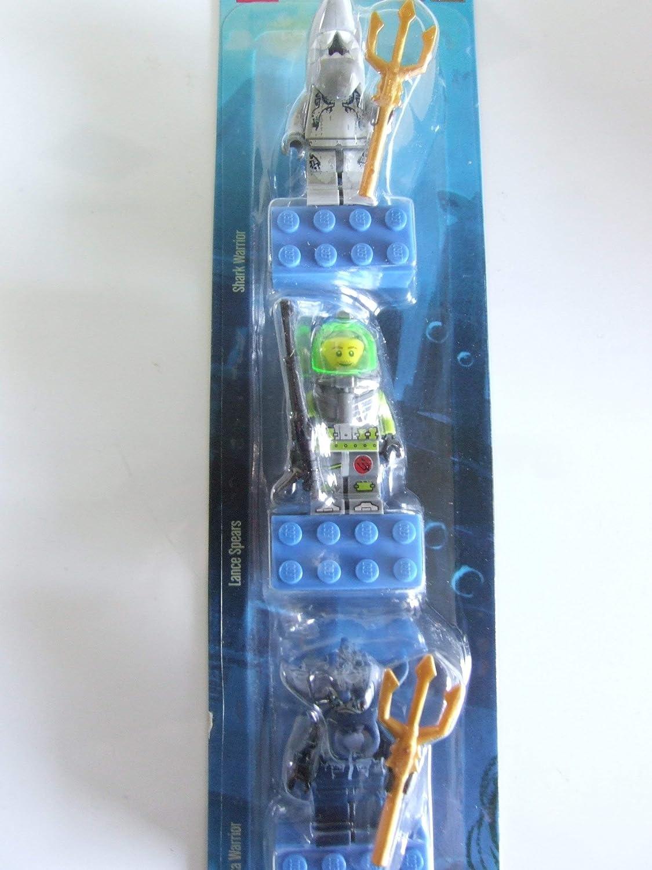 LEGO Atlantis Magnet Set of 3 - Shark, Lance, Manta Warrior