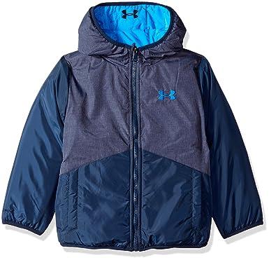 78b3dcda Amazon.com: Under Armour Boys' Reversible Pronto Puffer Jacket: Clothing