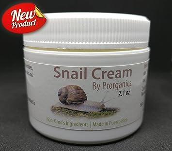 Amazon.com : Organic Snail Cream (2oz) by Prorganics : Beauty