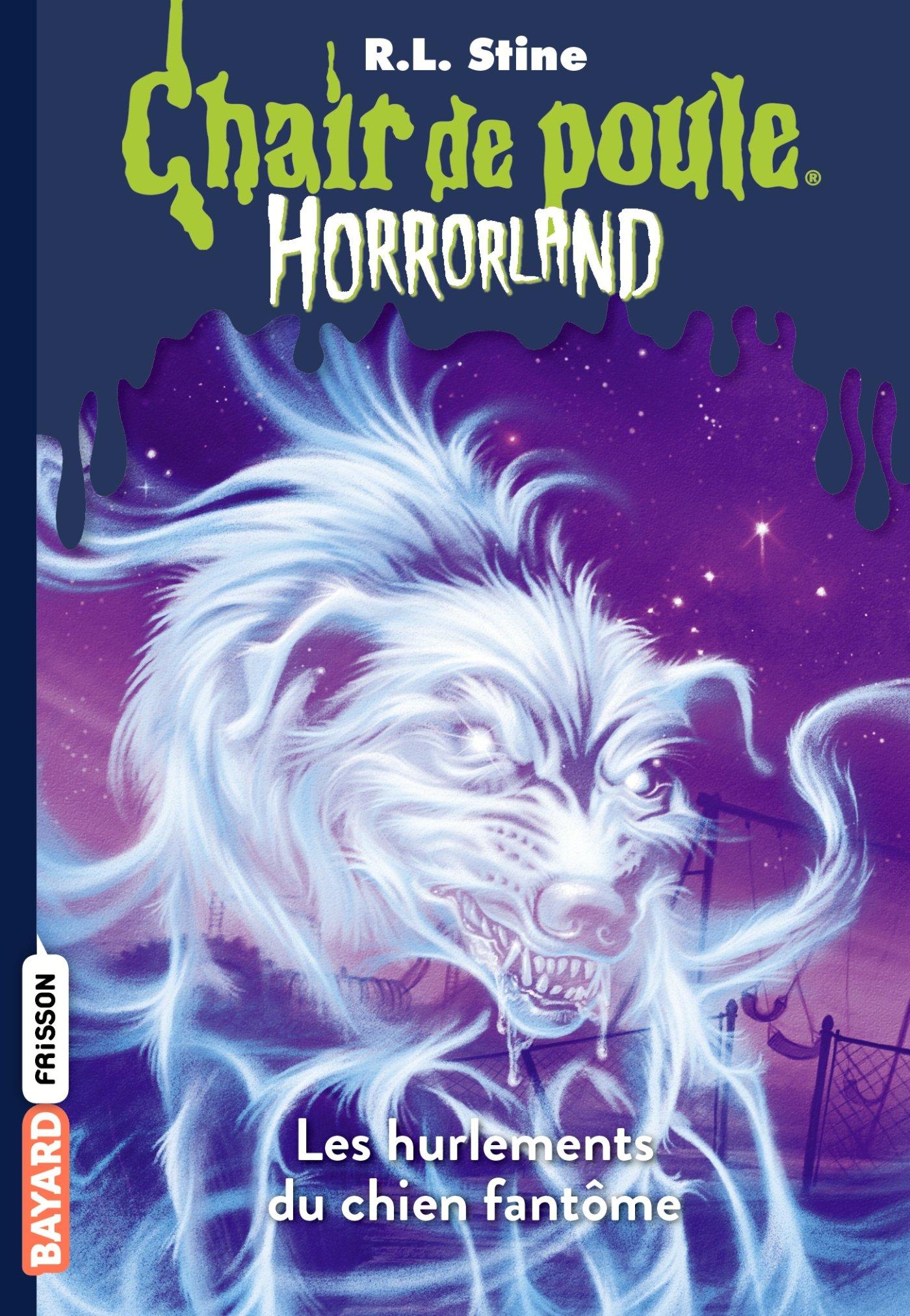 Horrorland, Tome 13: Les hurlements du chien fantôme Poche – 27 juin 2013 R.L Stine Bayard Jeunesse 2747045722 Romans jeunesse