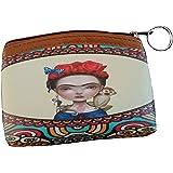 Frida Inspired Women's Purse, Wallet Matching Coin Purse