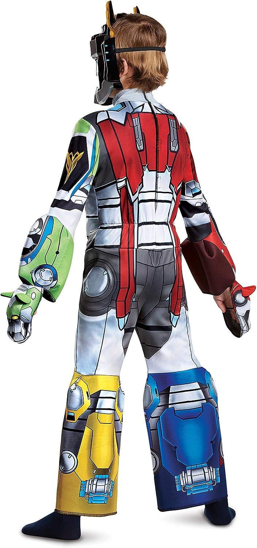 4-6 Multicolor Voltron Deluxe Costume Small