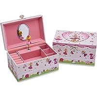 5ed80c9e0f6e Lucy Locket Caja de Música con diseño de Hadas mágicas - Joyero Musical  para niñas