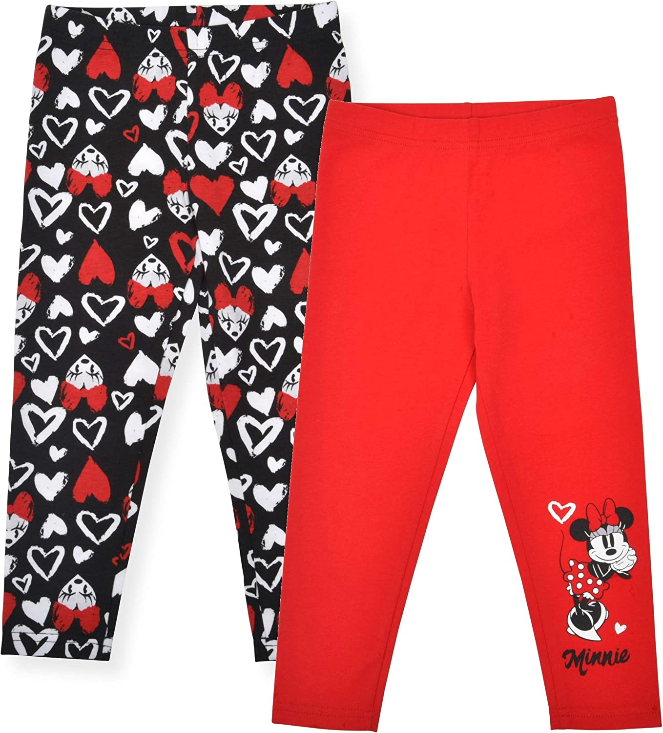 Disney Minnie Mouse Baby Girls Drawstring 2 Pack Pants