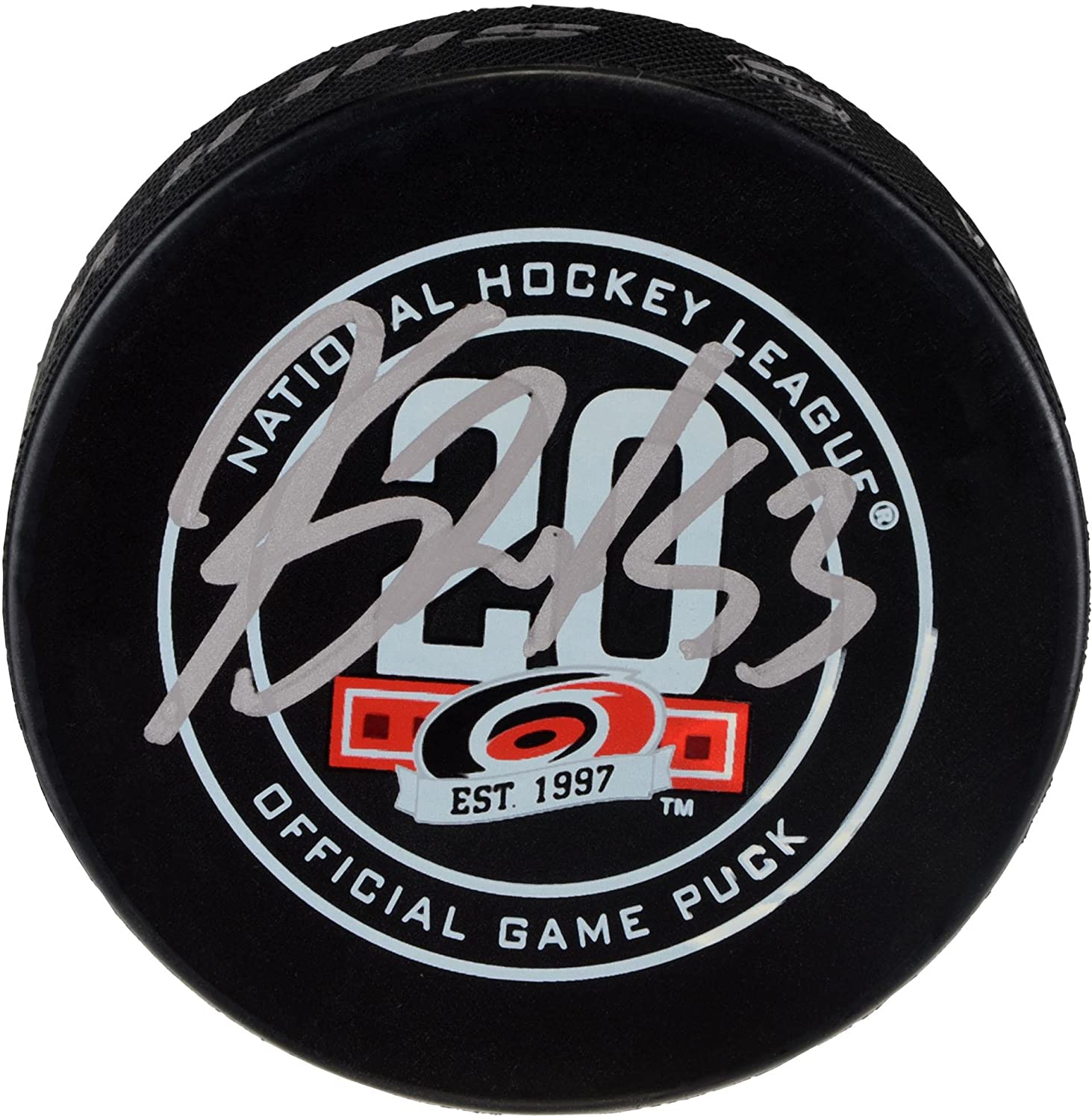 Jeff Skinner Carolina Hurricanes Autographed Official Game Puck - Fanatics Authentic Certified - Autographed NHL Pucks