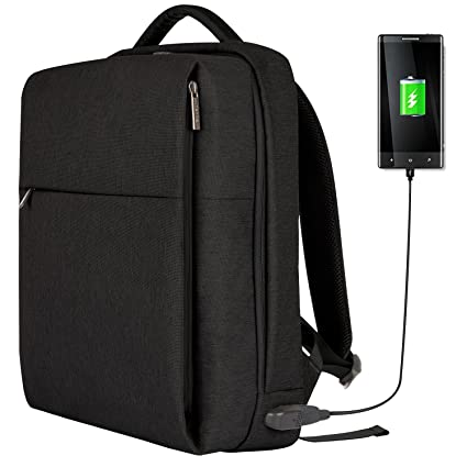 OSOCE Laptop Backpack Slim Business Backpack With Usb Charging Port Men  Women Water Resistant Computer Rucksack a603e667e947b