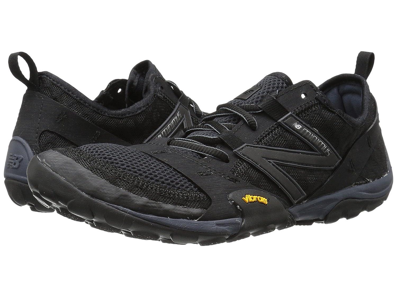 (ニューバランス) New Balance メンズランニングシューズスニーカー靴 Minimus 10v1 Black/Silver 10.5 (28.5cm) D - Medium B0788TKWDN