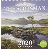 Scotsman Wall Calendar 2020