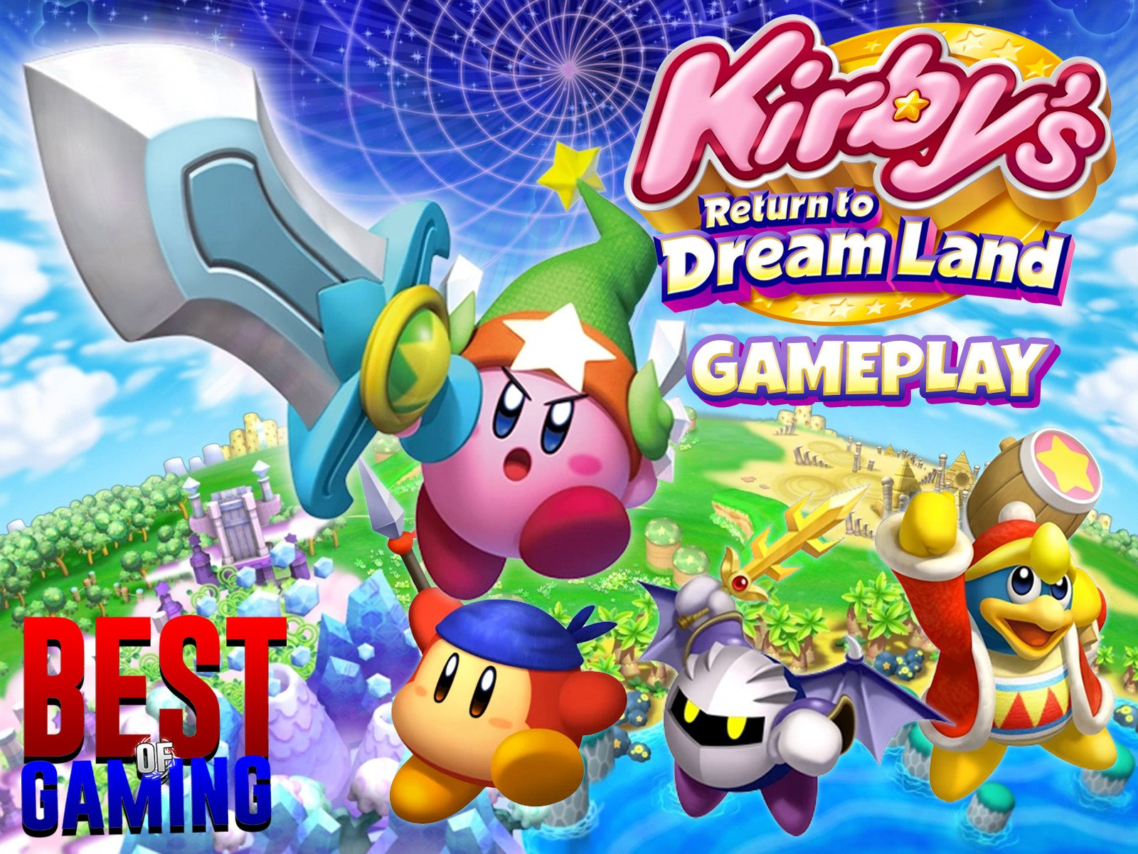 Watch Clip Kirby S Return To Dreamland Gameplay Best Of Gaming