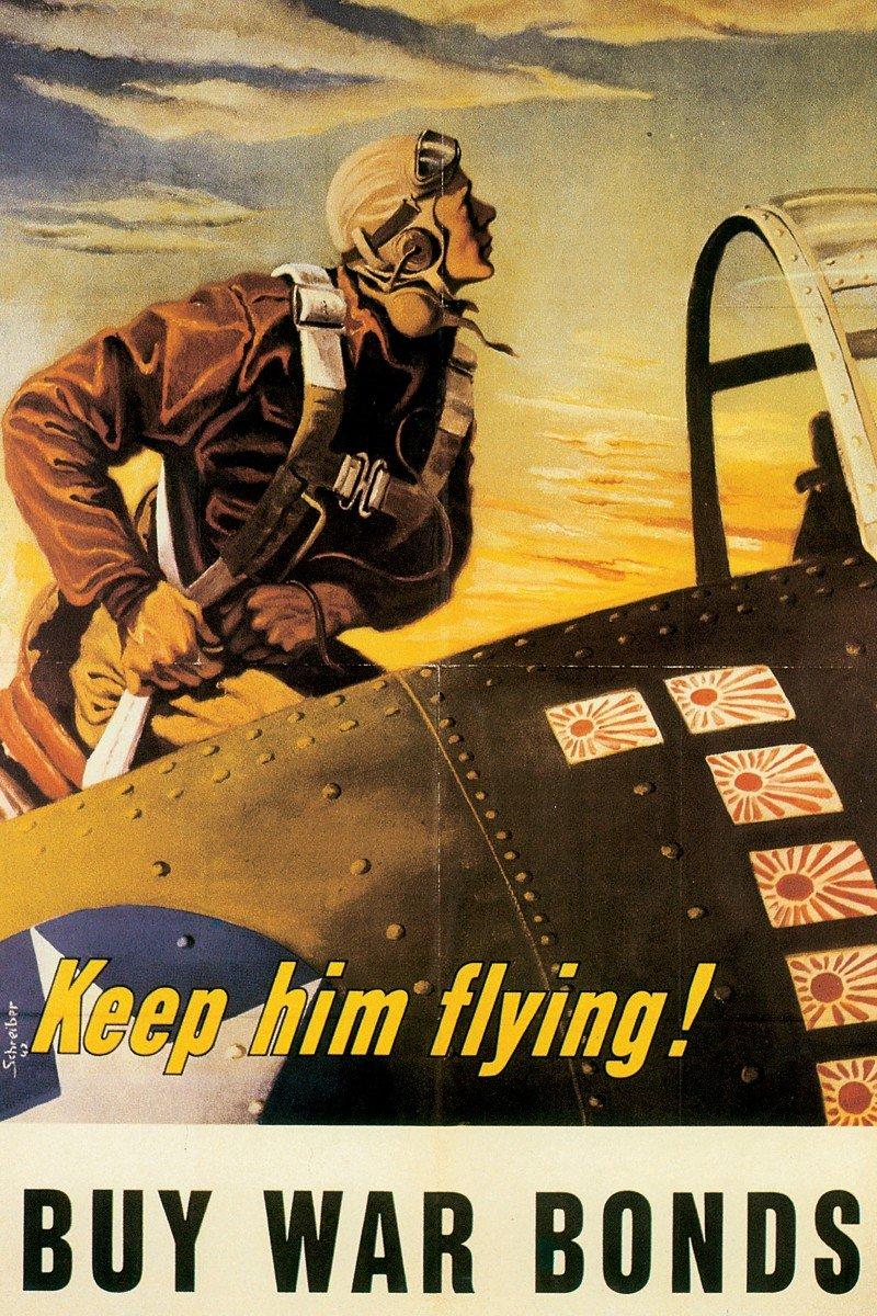 Marmont Hill Keep Him Flying壁アート 12-Inch by 18-Inch MH-WW-71-C-18 12-Inch by 18-Inch  B00UZ1TLYK