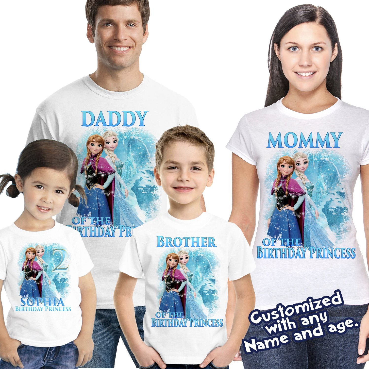 09cf5e622 Frozen birthday shirt,Custom shirt,personalized Frozen custom Shirt, family  shirt,birthday