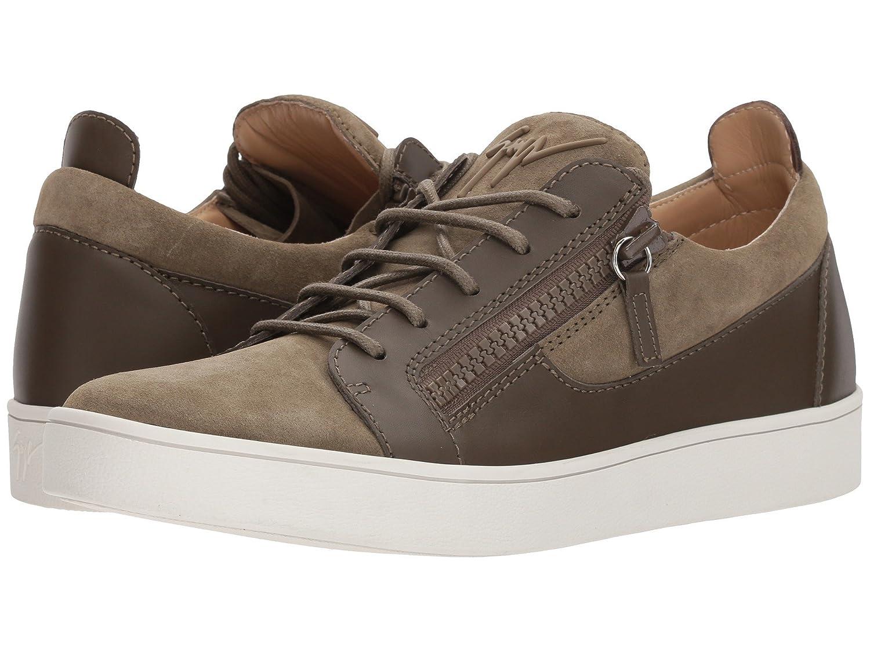 [ジュゼッペザノッティ] メンズ スニーカー Brek Suede Low Top Sneaker [並行輸入品] B07CZB29MB