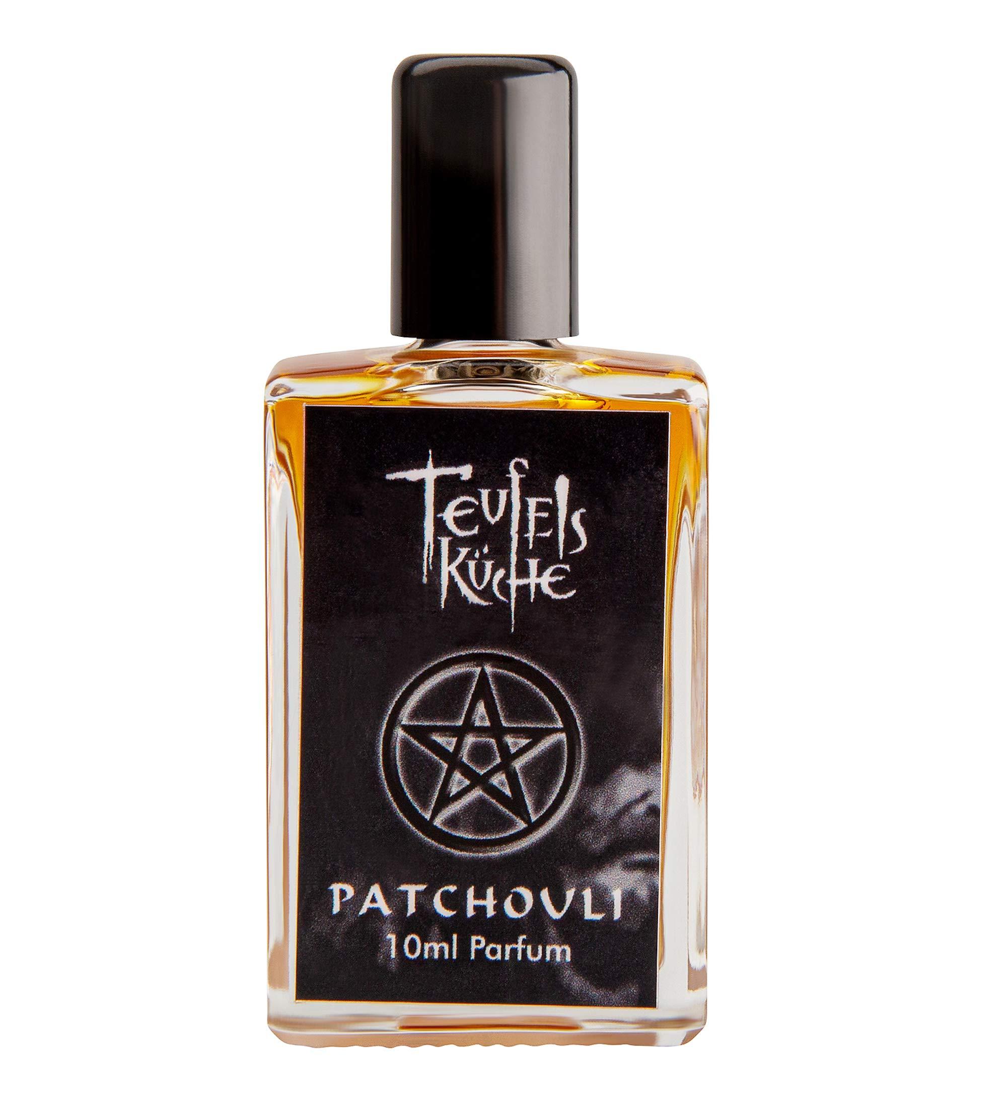 Original Teufelsküche Patchouli Perfume, 10 ml, Gothic Perfume, Pure Patchouli Gothic