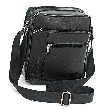 Amazon.com: Small Genuine Leather Cross Body Messenger Bags ...