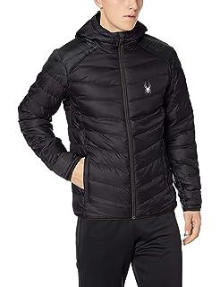 f31194ff7 Spyder Men's Dolomite Hoody Down Jacket: Amazon.co.uk: Sports & Outdoors
